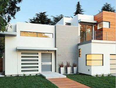 Fachadas de piedra modernas excellent resultado de imagen for Fachada de casas modernas con vidrio