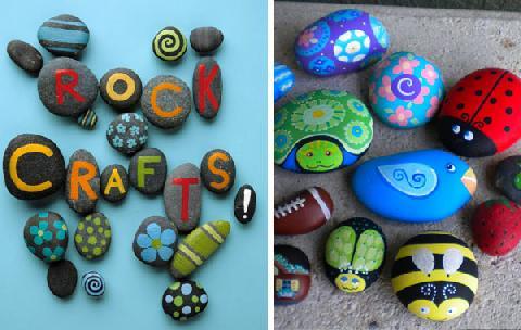 Decorar piedras con pintura noticias de luj n - Decorar piedras de rio ...